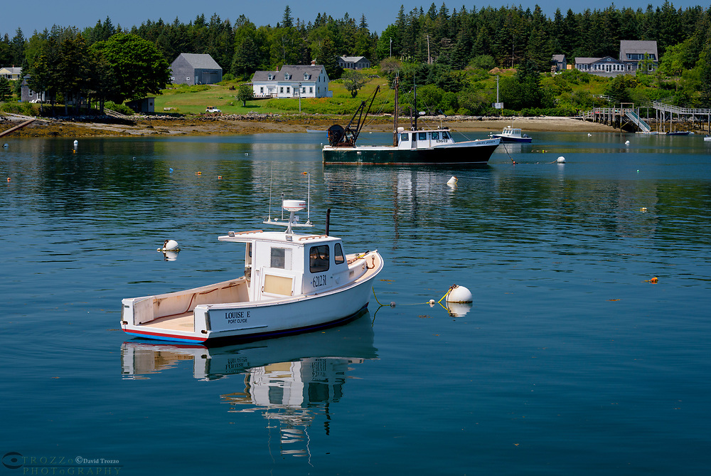 Fishing boats, Port Clyde Maine.