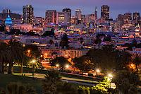 San Francisco, Evening @ Dolores Park