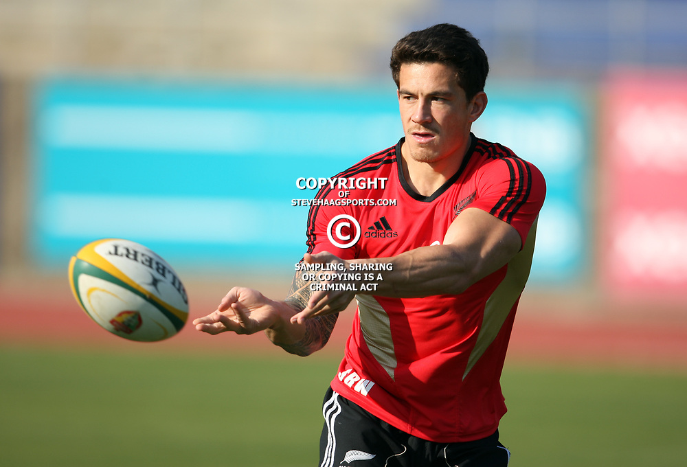 PORT ELIZABETH, SOUTH AFRICA - AUGUST 18,  Sonny Bill Williams during the New Zealand national rugby team training session at Xerox Arena on August 18, 2011 in Port Elizabeth, South Africa<br /> Photo by Steve Haag / Gallo Images