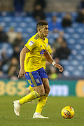 Birmingham City forward Che Adams (9) on the ball during the EFL Sky Bet Championship match between Millwall and Birmingham City at The Den, London, England on 28 November 2018.