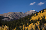Quandary Peak, 14,265 feet, Autumn, Summit County, Colorado Colorado