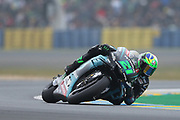#21 Franco Marbidelli, Italian: Petronas Yamaha SRT during racing on the Bugatti Circuit at Le Mans, Le Mans, France on 19 May 2019.