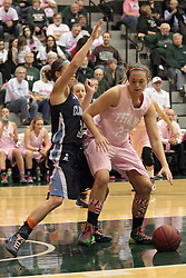 08 February 2014:  Katy Siebring during an NCAA women's division 3 CCIW basketball game between the Elmhurst Bluejays and the Illinois Wesleyan Titans in Shirk Center, Bloomington IL