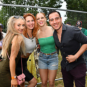 Hundreds attends the La Clave Fest 2019: Free Latin Festival in London with live performances great food and drinks and beautiful people at Finsbury park on 3 August 2019, London, UK.