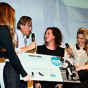 NLD/Amsterdam/20131014 -  Marie Claire Starters Award 2013, Winnares Sanne Tummers - Single&Stijl