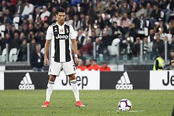 September 26, 2018 - Turin, Italy - Juventus forward Cristiano Ronaldo (7) preparing shooting a free kick during the Serie A football match n.6 JUVENTUS - BOLOGNA on 26/09/2018 at the Allianz Stadium in Turin, Italy. (Credit Image: © Matteo Bottanelli/NurPhoto/ZUMA Press)