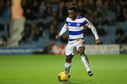 Q28Queens Park Rangers midfielder Kazenga LuaLua (28) during the EFL Sky Bet Championship match between Queens Park Rangers and Wigan Athletic at the Loftus Road Stadium, London, England on 21 February 2017. Photo by Sebastian Frej.