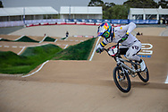 #7 (SAKAKIBARA Saya) AUS at Round 1 of the 2020 UCI BMX Supercross World Cup in Shepparton, Australia