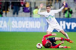 Branko Ilic of Slovenia during the FIFA World Cup 2014 Group E qualification match between Slovenia and Norway on October 11, 2013 in Stadium Ljudski vrt, Maribor, Slovenia. (Photo by Urban Urbanc / Sportida)