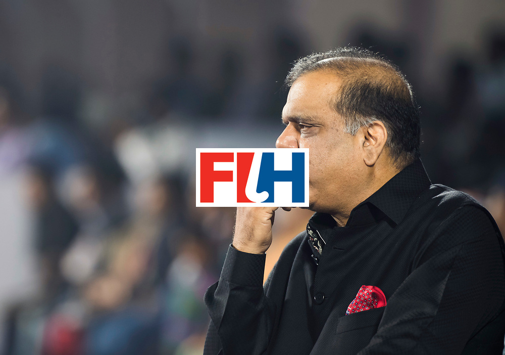 BHUBANESWAR - The Odisha Men's Hockey World League Final . Match ID 02. Australia v India. FIH President Batra. WORLDSPORTPICS COPYRIGHT  KOEN SUYK