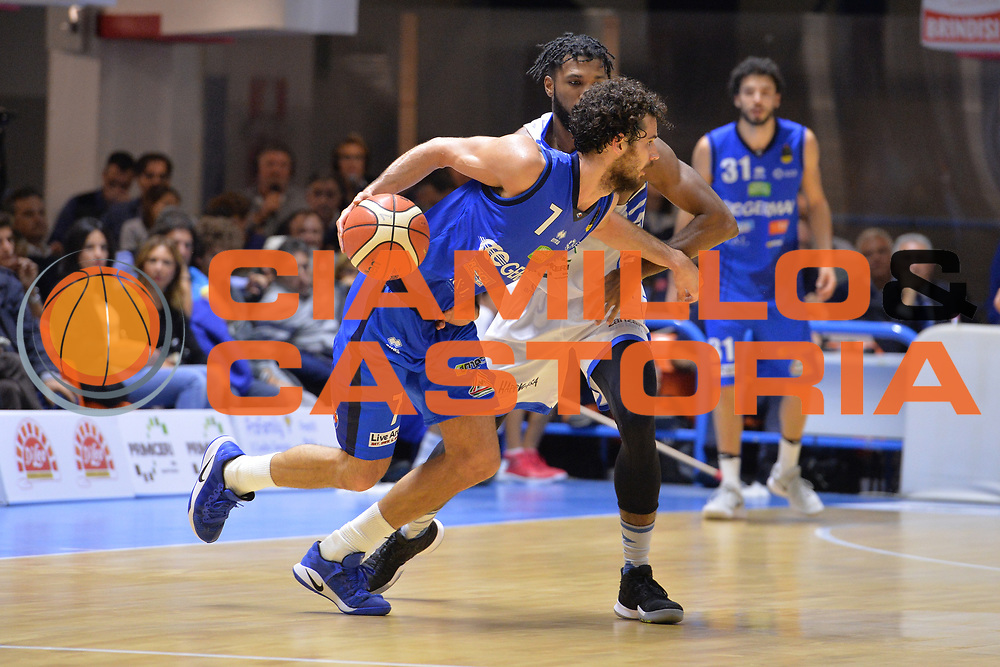 Vitali Luca<br /> Happycasa Brindisi - Germani Basket Brescia<br /> Legabasket serieA2017-2018<br /> Brindisi , 29/10/2017<br /> Foto Ciamillo-Castoria/M.Longo