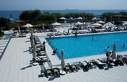 Pool at Hotel of Slovenia team at 2010 FIBA World Championships on August 31, 2010 in Polat Renaissance Hotel in Istanbul, Turkey. (Photo By Vid Ponikvar / Sportida.com)