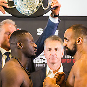 NLD/Amsterdam20160624 - Glory 31 / Weigh in, Zack Mwekassa vs Mourad Bouzidi