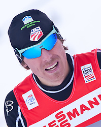 05.01.2011, Nordic Arena, Toblach, ITA, FIS Cross Country, Tour de Ski, Qualifikation Sprint Women and Men, im Bild Andrew Newell (USA, #58). EXPA Pictures © 2011, PhotoCredit: EXPA/ J. Groder