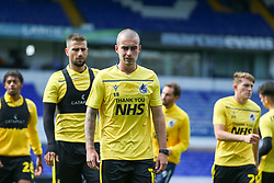 Michael Kelly of Bristol Rovers during the warm up - Mandatory by-line: Arron Gent/JMP - 05/09/2020 - FOOTBALL - Portman Road - Ipswich, England - Ipswich Town v Bristol Rovers - Carabao Cup
