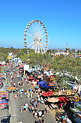 A View From The Gondola Of The OC Fair