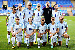 England women team group - Mandatory by-line: Matt McNulty/JMP - 19/09/2017 - FOOTBALL - Prenton Park - Birkenhead, United Kingdom - England v Russia - FIFA Women's World Cup Qualifier