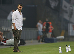 22.07.2015, UPC Arena, Graz, AUT, Testspiel, SK Sturm Graz vs Besiktas Istanbul, Testspiel, im Bild Sturm Trainer Franco Foda // during a international friendly football match between SK Sturm Graz and Besiktas Istanbul at the UPC Arena, Graz, Austria on 2015/07/22, EXPA Pictures © 2015, PhotoCredit: EXPA/ Erwin Scheriau