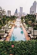 Pool at the Peninsula Bangkok