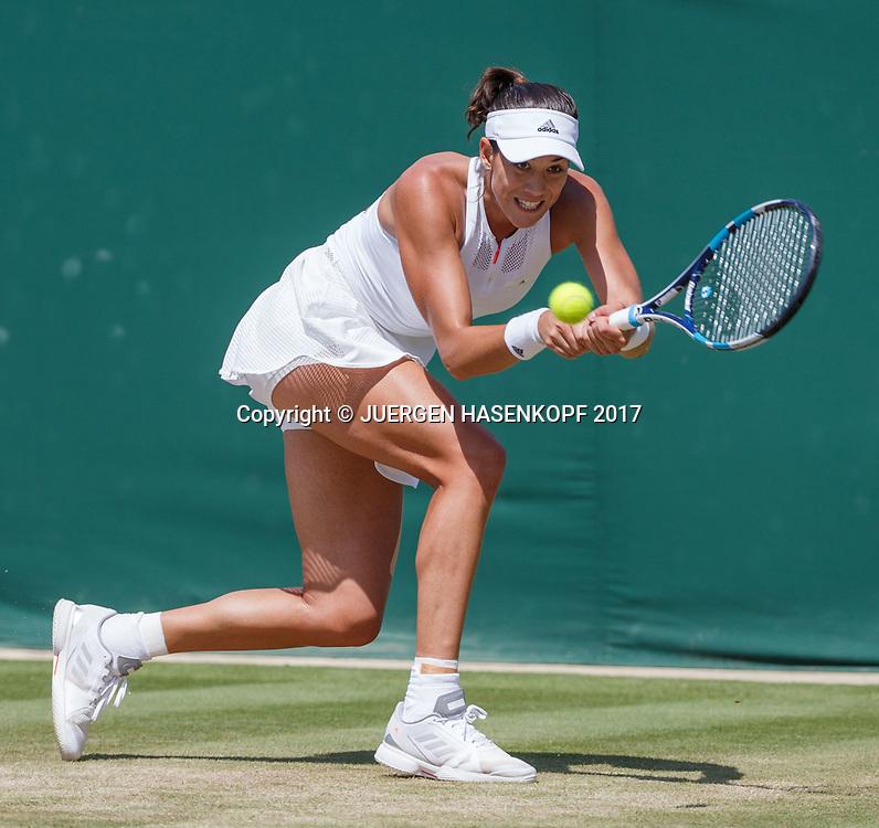 GARBI&Ntilde;E MUGURUZA (ESP)<br /> <br /> Tennis - Wimbledon 2017 - Grand Slam ITF / ATP / WTA -  AELTC - London -  - Great Britain  - 10 July 2017.