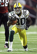 Donald Driver Poster..The Green Bay Packers traveled to the Georgia Dome in Atlanta, Georgia to play the Falcons Sunday November 13, 2005. Steve Apps-State Journal.