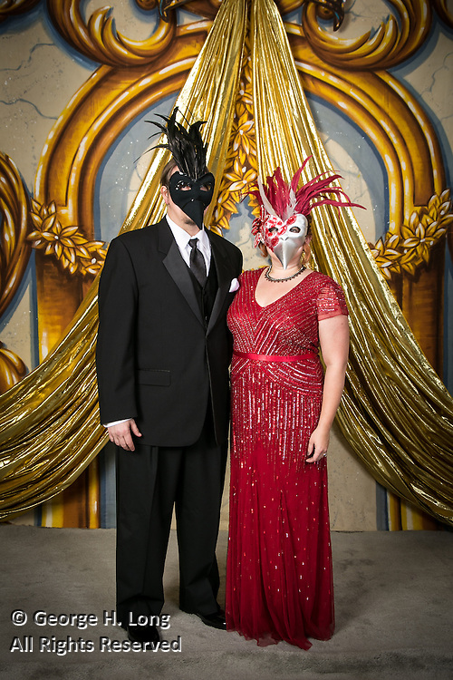 Krewe of Nyx Mardi Gras Ball portraits