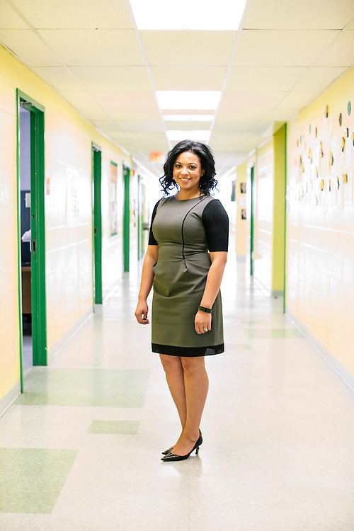 Atasha James is the principal of Leckie Elementary School in SW Washington DC, where a third of the students are from military families. James said one of the obstacles they face is making sure students can become acclimated to their program quickly as they are arriving and leaving throughout the school year.