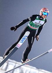 February 8, 2019 - Lahti, Finland - Dawid Kubacki competes during FIS Ski Jumping World Cup Large Hill Individual Qualification at Lahti Ski Games in Lahti, Finland on 8 February 2019. (Credit Image: © Antti Yrjonen/NurPhoto via ZUMA Press)