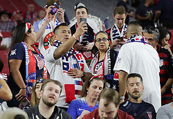 January 27, 2019 - Glendale, AZ, USA - Glendale, AZ - Sunday January 27, 2019: The men's national teams of the United States (USA) and Panama (PAN) play in an international friendly game at State Farm Stadium. (Credit Image: © John Dorton/ISIPhotos via ZUMA Wire)