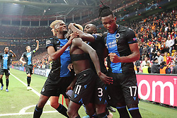 November 26, 2019, Galatasaray, Turkey: Club's Krepin Diatta celebrates after scoring during a game between Turkish club Galatasaray and Belgian soccer team Club Brugge, Tuesday 26 November 2019 in Istanbul, Turkey, fifth match in Group A of the UEFA Champions League. (Credit Image: © Bruno Fahy/Belga via ZUMA Press)