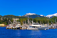 Harbor, Ketchikan, Southeast Alaska USA