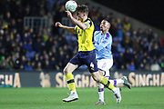 Rob Dickie (4) of Oxford United during the EFL Cup match between Oxford United and Manchester City at the Kassam Stadium, Oxford, England on 18 December 2019.