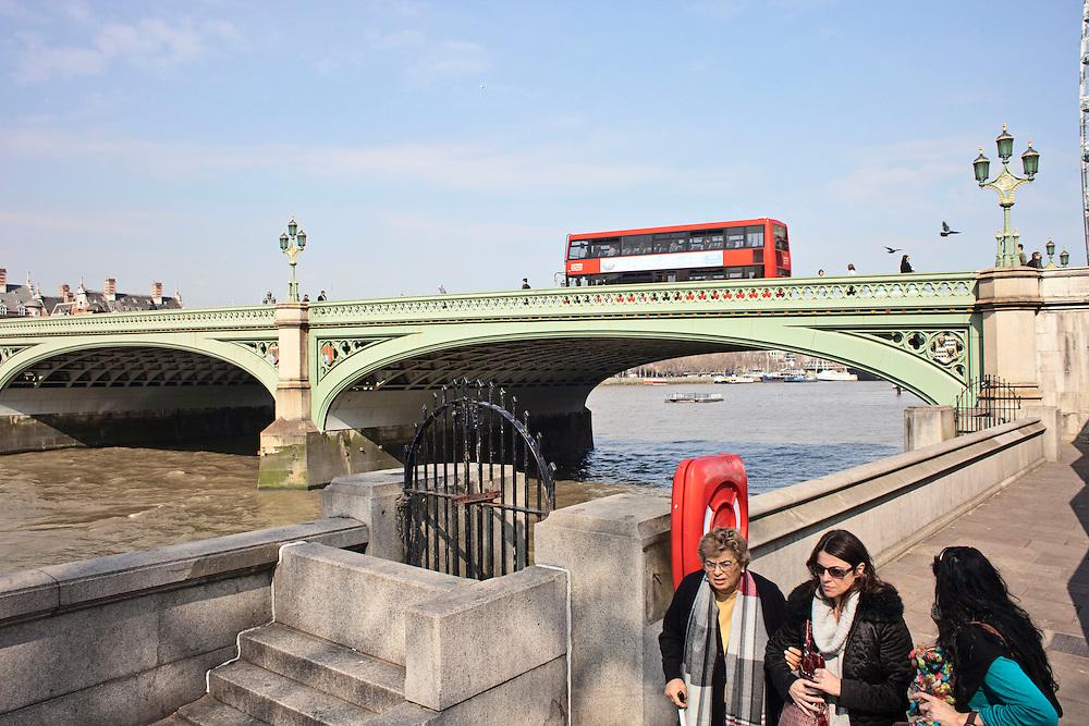 Westminster Bridge. London, UK. 2012