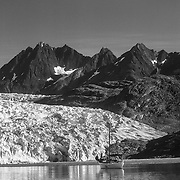 I made several trips to the amazing Glacier Bay National Park, in Avalon and just with my kayak.