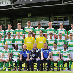 Yeovil Town Photo Call