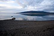 Lake Llanquihue at dusk, Chile