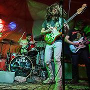 FREDRICKSBURG, VA - November 1st, 2014 - Nashville rock gods Diarrhea Planet perform at the Fredrickburg All Ages concert in Fredrickburg, VA. Photo by Kyle Gustafson