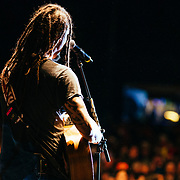 Micahel Franti and Spearhead perform to a sell-out crowd in Teton Village, Wyoming.