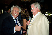 TONY SHAFRAZI AND FRANK DUNPHY, Richard Prince opening at the Serpentine gallery and afterwards at Annabels. London. 25 June 2008 *** Local Caption *** -DO NOT ARCHIVE-© Copyright Photograph by Dafydd Jones. 248 Clapham Rd. London SW9 0PZ. Tel 0207 820 0771. www.dafjones.com.