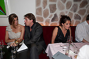 Rosario Saxe Coburg ; SCOTT DOUGLAS; TRACEY EMIN;, Prada Congo Benefit party. Double Club. Torrens Place. Angel. London. 2 July 2009.