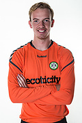 Forest Green Rovers goalkeeper Lewis Thomas during the 2018/19 official team photocall for Forest Green Rovers at the New Lawn, Forest Green, United Kingdom on 30 July 2018. Picture by Shane Healey.