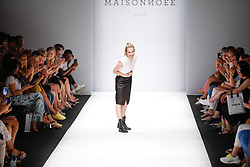 July 3, 2018 - Berlin, Germany - Maisonnoee presents  her Spring/Summer 2019 collection of during the first day of MBFW Berlin Fashion Weak in the ewerk showspace in Berlin, Germany on July 3, 2018. (Credit Image: © Dominika Zarzycka/NurPhoto via ZUMA Press)