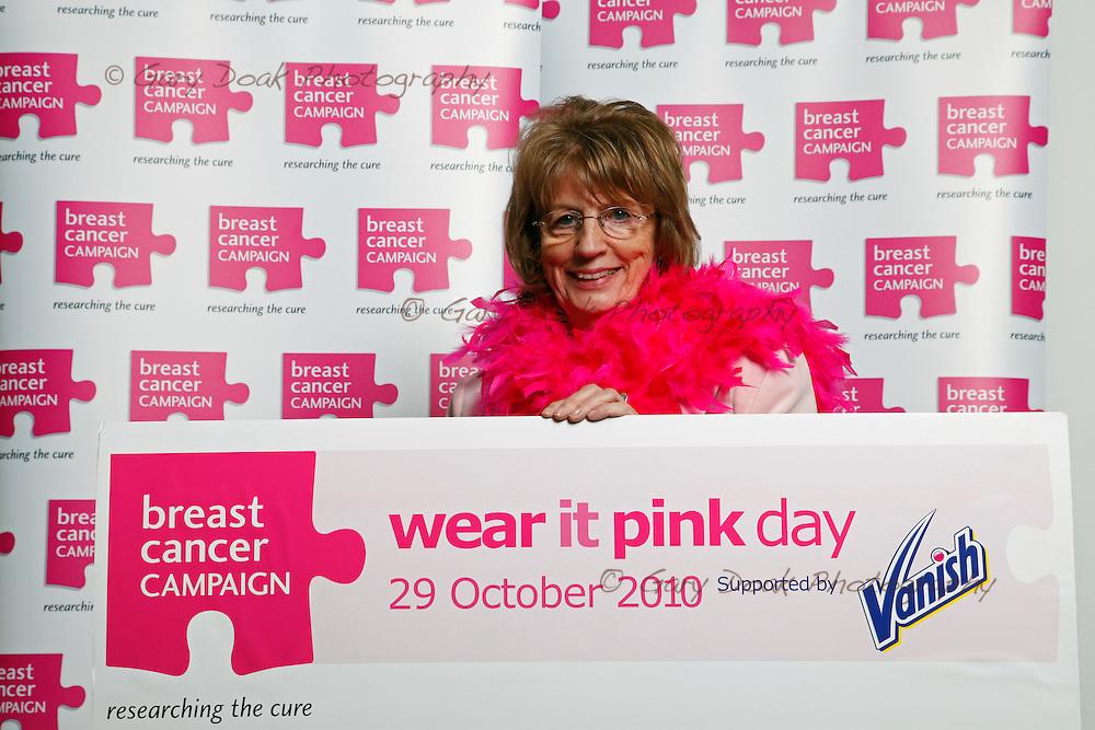 Scottish MSP's 'Wear it Pink' at the Scottish Parliament