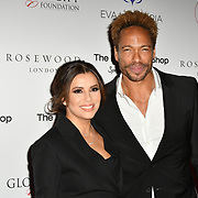 Eva Longoria and Gary Dourdan Arrivers at The Global Gift Gala red carpet - Eva Longoria hosts annual fundraiser in aid of Rays Of Sunshine, Eva Longoria Foundation and Global Gift Foundation on 2 November 2018 at The Rosewood Hotel, London, UK. Credit: Picture Capital
