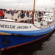 150 Jaar Huizer haven, Neeltje Jacoba, reddingsboot, Mabel Wisse Smit, Klaas Bruinsma