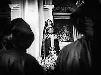 Noicattaro. Sabato Santo.Crociferi in commemorazione della Madonna.