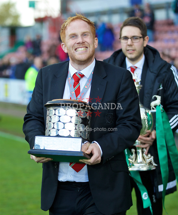 WREXHAM, WALES - Monday, May 2, 2016: FAW's Alex Eagle during the 129th Welsh Cup Final at the Racecourse Ground. (Pic by David Rawcliffe/Propaganda)