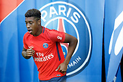 Presnel Kimpembe (PSG) during the French championship L1 football match between Paris Saint-Germain (PSG) and Toulouse Football Club, on August 20, 2017, at Parc des Princes, in Paris, France - Photo Stephane Allaman / ProSportsImages / DPPI