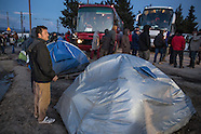 Refugees stuck in Idomeni, 25.03.16