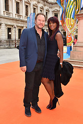 John & Phoebe Hitchcox at the Royal Academy of Arts Summer Exhibition Preview Party 2017, Burlington House, London England. 7 June 2017.